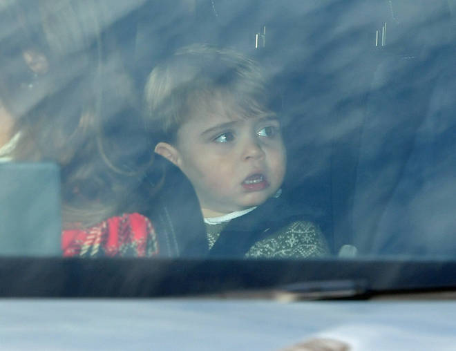 Prince Louis is the spitting image of his older brother George