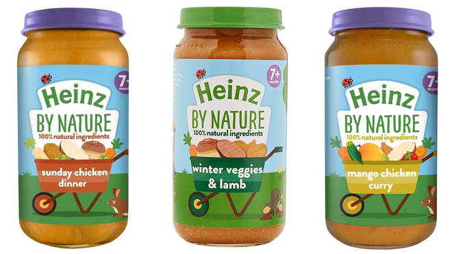 Heinz have recalled their 7+ baby foods
