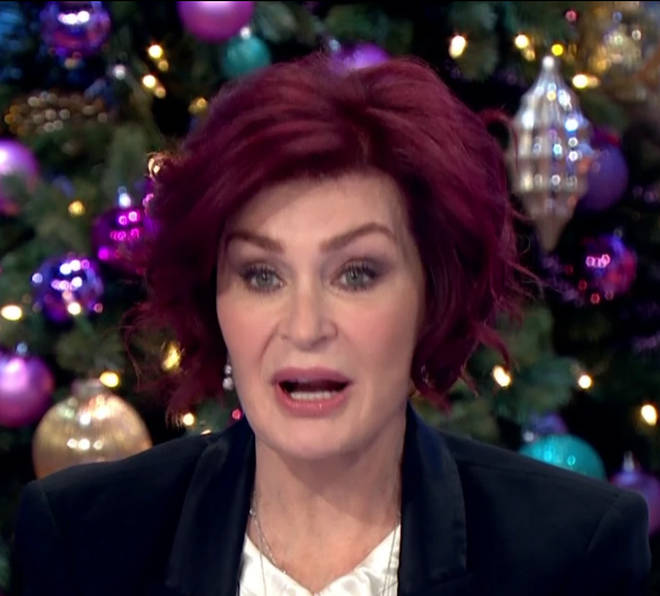 Sharon Osbourne opened up about her facelift on Loose Women today