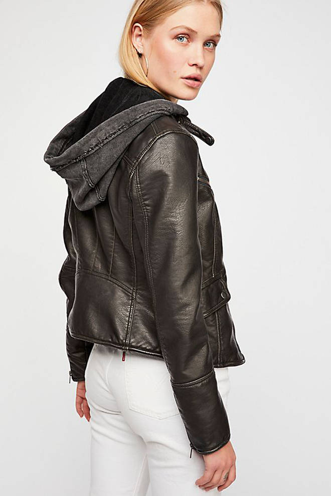 Free People sell a number of faux leather clothing items