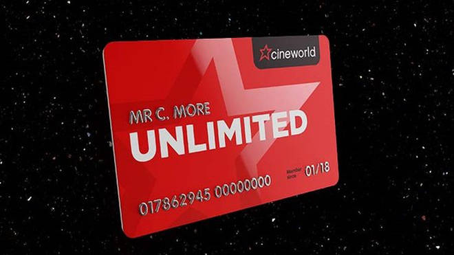 A Cineworld Unlimited card is perfect for any film buff