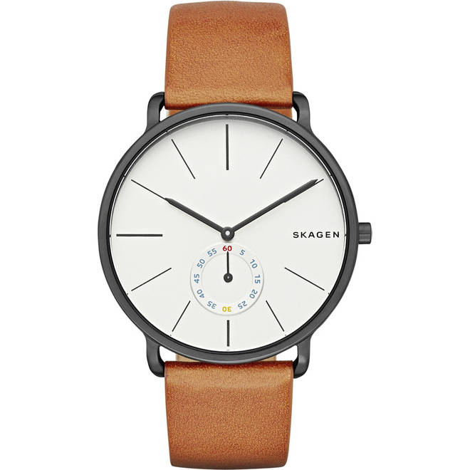This Skagen watch is a timeless classic colour and style