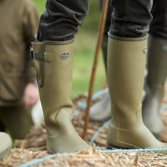 The high quality wellies are great for a man who loves spending time outdoors