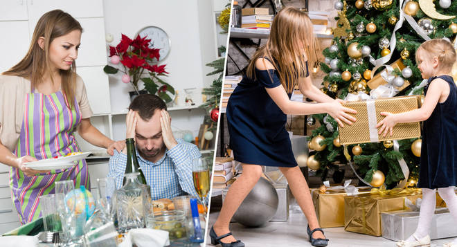 Here's when your family is most likely to row on Christmas Day