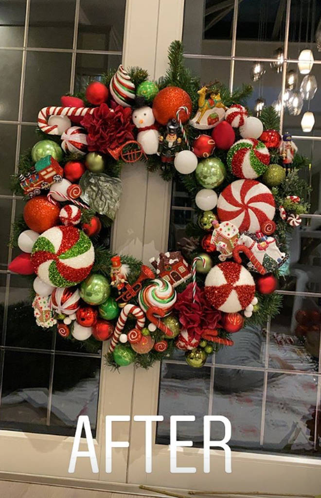 Luisa Zissman thought she had found the person who stole her wreath