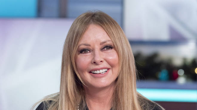Carol Vorderman returns to TV following illness that left her 'struggling to breathe'