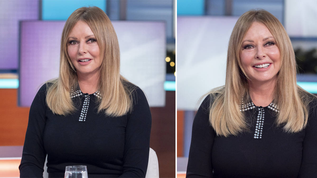 Carol Vorderman returns to TV following illness that left her 'struggling to breathe'