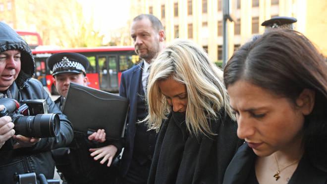 Caroline arrived at Highbury Corner Magistrates Court