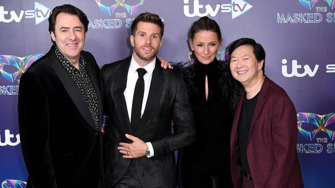 Jonathan Ross, Joel Dommett, Davina McCall and Ken Jeong star in the first UK series of The Masked Singer.