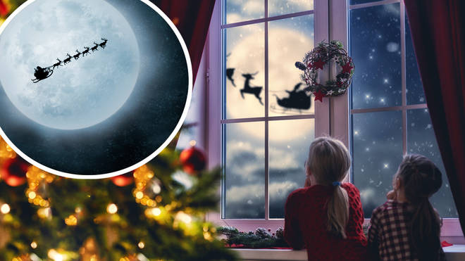 Try spotting Santa on his sleigh this Christmas Eve