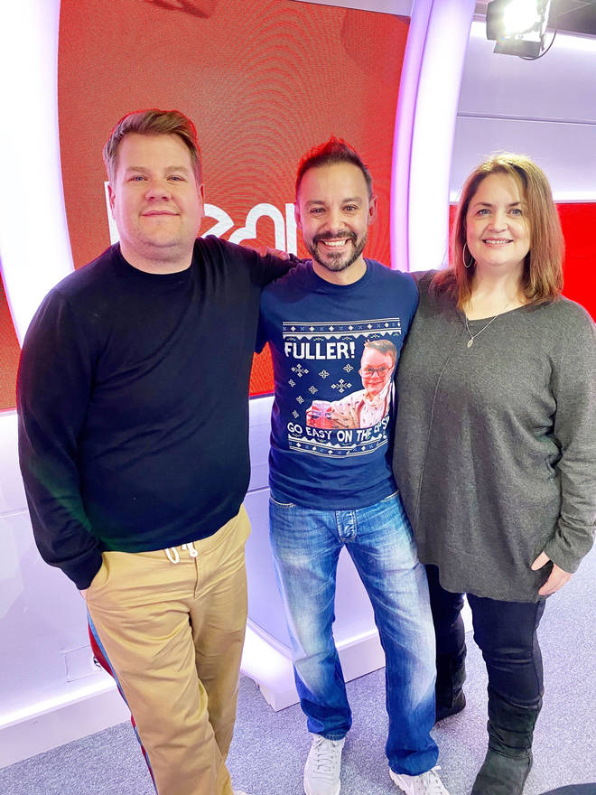 James Corden spoke about the Gavin and Stacey Christmas Special on Heart Breakfast