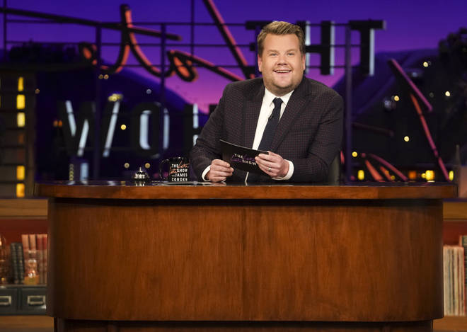 James Corden presents The Late Late Show in the States.