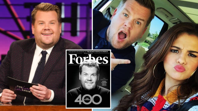 James Corden has found success across the pond as a TV host.