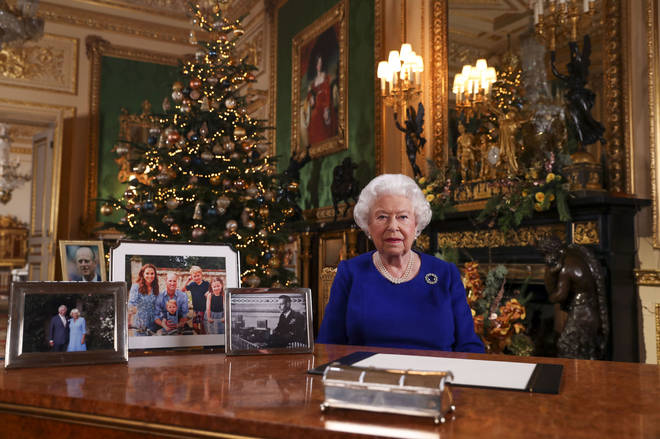The Queen's speech will air tomorrow