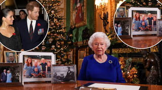 The Queen has been selective over her photo choices this year