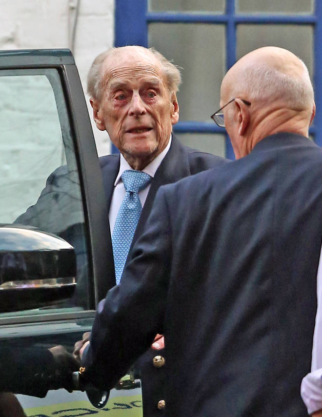 Prince Philip, 98, was admitted to a London hospital on Friday 20th December