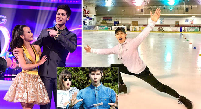 Ben Hanlin is competing in this year's Dancing On Ice