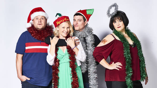 The Gavin & Stacey Christmas special aired at 8:30PM