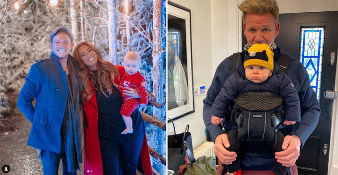 A number of celebrities welcomed babies this year