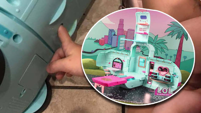 Children have been getting their fingers trapped in a hole at the bottom of the Glamper van toy