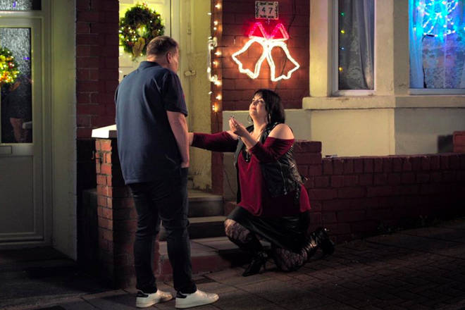 Ruth Jones hints Nessa and Smithy could get married following the Christmas proposal.