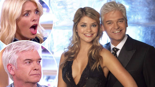 """Holly confessed she was """"terrified"""" during her very first co-hosting job with Phillip Schofield."""