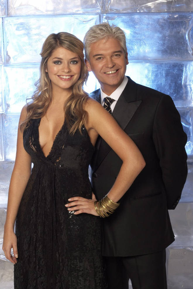 The telly duo began hosting Dancing On Ice together in 2006.