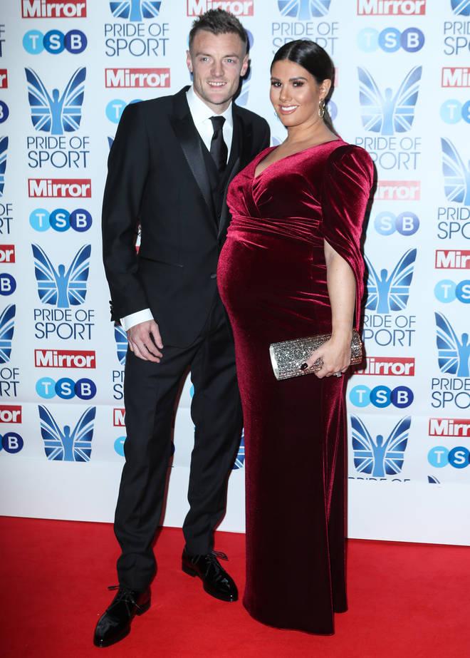 Rebekah with husband Jamie in November
