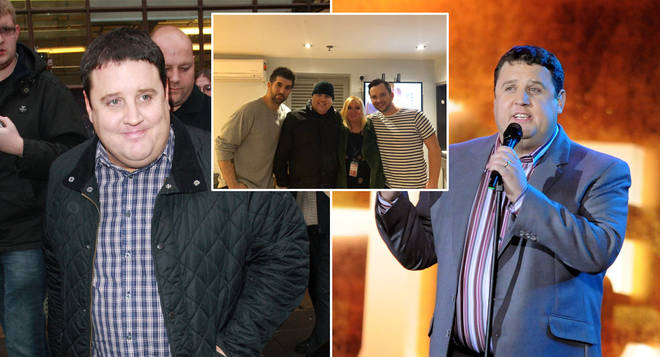 Peter Kay has been pictured for the first time in eight months