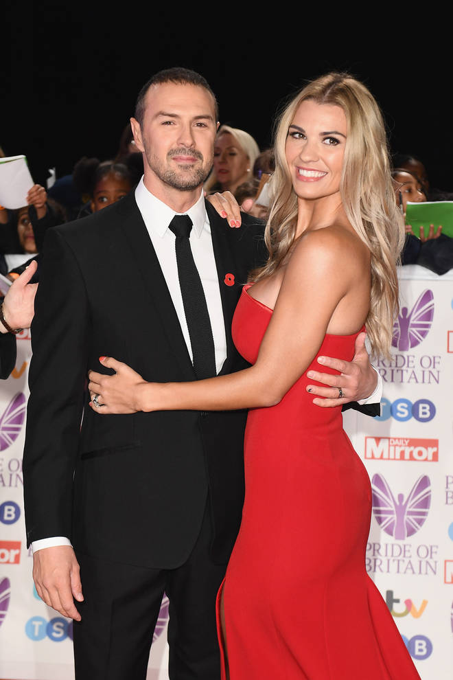Paddy McGuinness and his wife Christine celebrated Christmas with their three children.