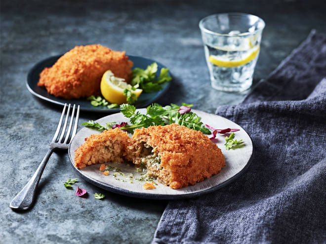 Marks & Spencer's meat-free kiev uses soya instead of chicken.