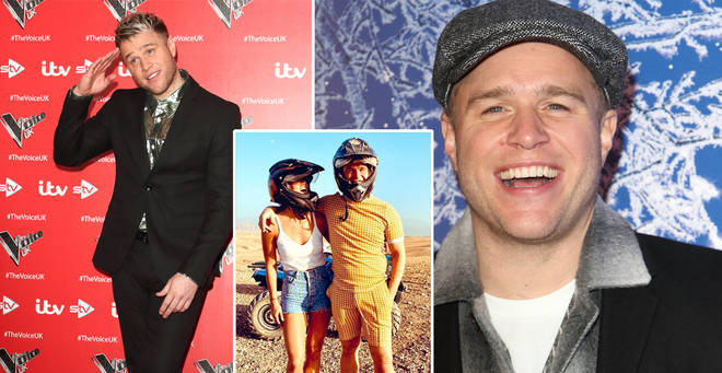 Olly Murs has gone public with his new girlfriend