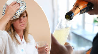 Go easy on the sparkling stuff if you want to avoid a hangover.