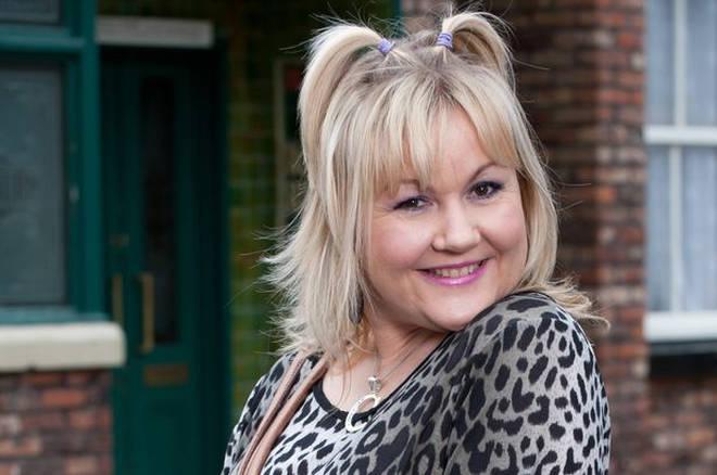 Lisa George plays Beth Tinker in Coronation Street