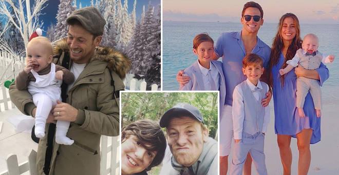 Joe Swash has two children