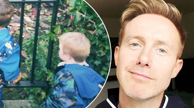Ian 'H' Watkins has two children with his ex-husband