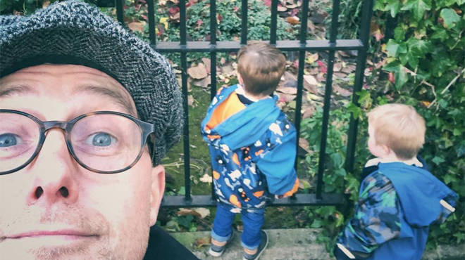 Ian 'H' Watkins is a proud dad of twin boys