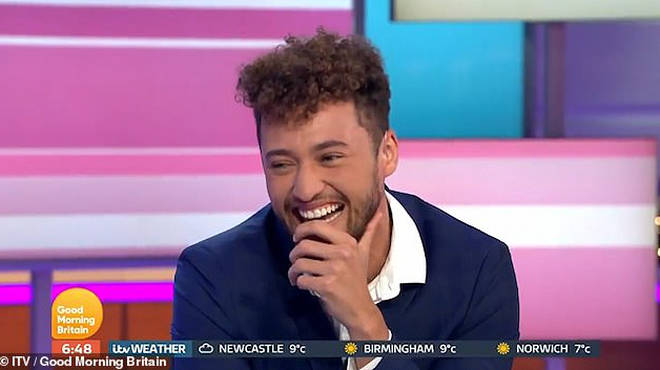 Myles is a guest presenter on GMB