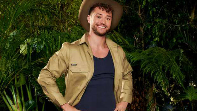 Myles Stephenson was a contestant on the last series of I'm A Celeb