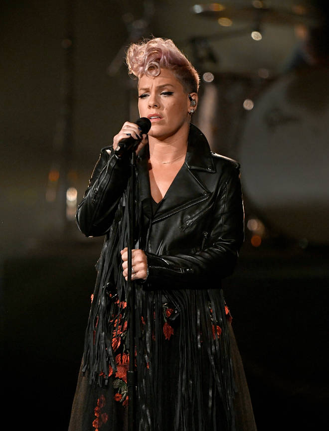 US pop star Pink has donated $500,000 to Australia's emergency services.