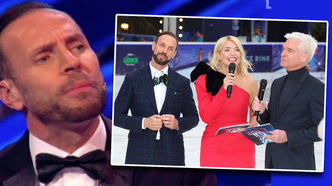 Jason Gardiner has said that he hasn't even received a message from his former Dancing On Ice co-stars