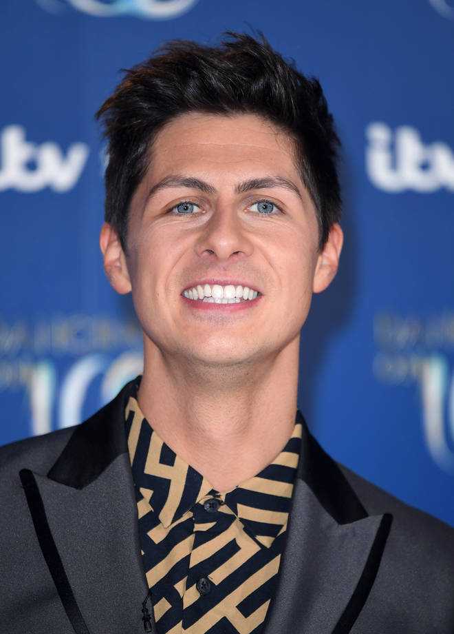 Ben Hanlin is the first magician to take part in Dancing On Ice