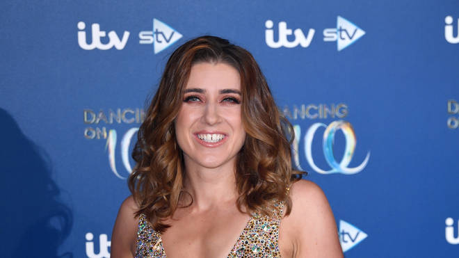 Libby Clegg MBE is the first blind contestant on Dancing On Ice
