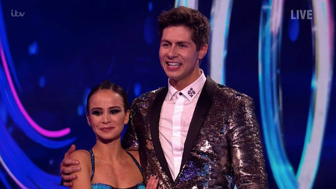 Both Ben and Trisha still got good scores from the judges