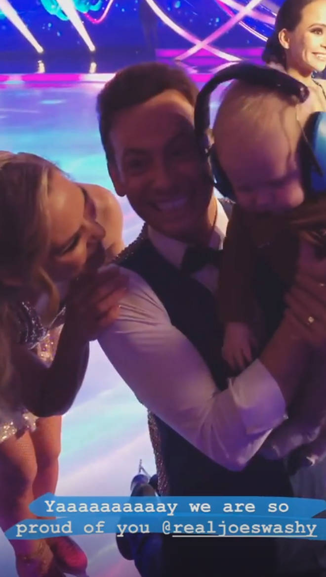 Stacey Solomon said she's 'proud' of Joe Swash