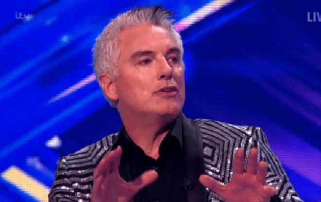 John was left in floods of tears on Sunday night