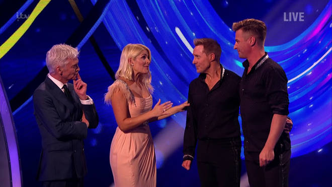 Holly also gushed about their performance