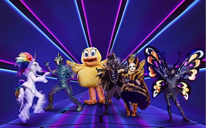 The Masked Singer UK launched this weekend