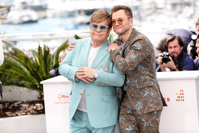 The pair are great friends and have been close since Taron's casting