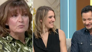 The couple appeared on Lorraine earlier today